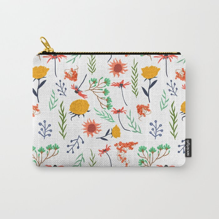 Rustica #illustration #pattern Carry-All Pouch