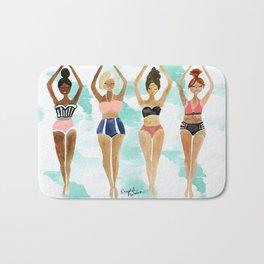 Beach Babe Bikinis Bath Mat