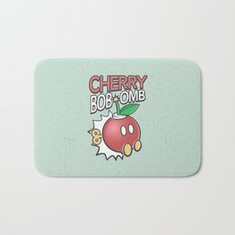 Cherry Bob-omb Bath Mat