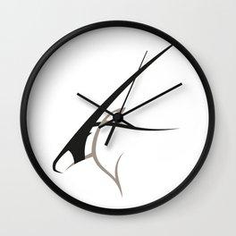 Oryx gazella Wall Clock