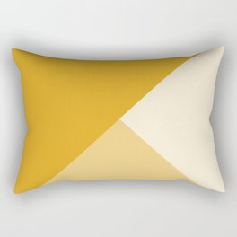 Mustard Tones Rectangular Pillow