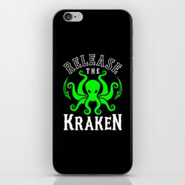 Release The Kraken iPhone Skin