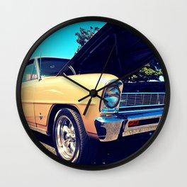 Classic Chevy Nova Wall Clock