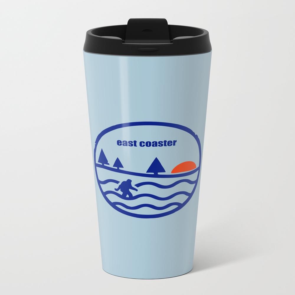 East Coast Yeti Metal Travel Mug by Stupidkrap MTM9000100