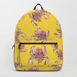 T.F TRAN YELLOW NEON BUTTERFLY IRIS Backpack