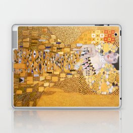 Gustav Klimt - The Woman in Gold Laptop & iPad Skin