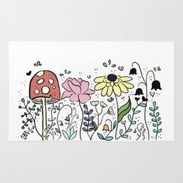 Saffron's garden Rug