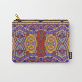 Mystical Magic Circus Abstract Print Carry-All Pouch