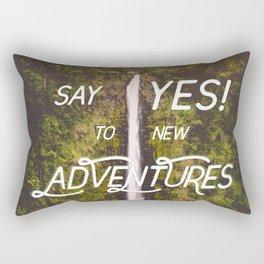 Say Yes Rectangular Pillow