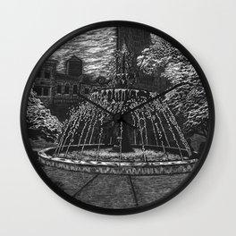 Gore Park Fountain Wall Clock