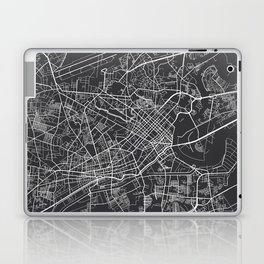 Ho Chi Minh City Map, Vietnam- Gray Laptop & iPad Skin
