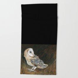 The Night Hunter by Teresa Thompson Beach Towel