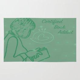 Certified Book Addict Rug