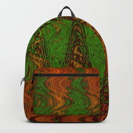 Waving Green Backpack