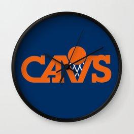 cavs Wall Clock
