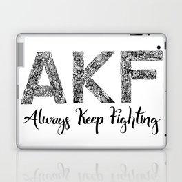 AKF - Always Keep Fighting Laptop & iPad Skin