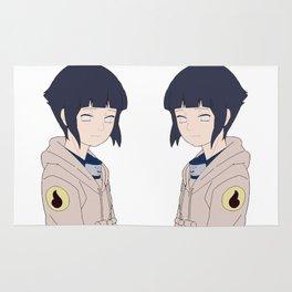 Hinata Hyuga Rug