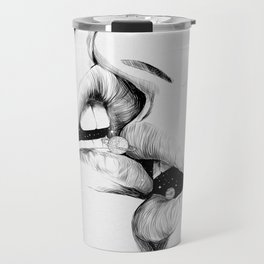Kiss me today. Travel Mug