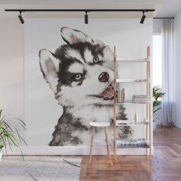 Baby Husky Wall Mural