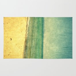 Seascape Vertical Abstract Rug