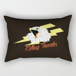 Screaming Eagle (Rolling Thunder) Rectangular Pillow