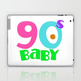 90s baby Laptop & iPad Skin