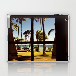 Tropical Fiji Beach Scene Laptop & iPad Skin