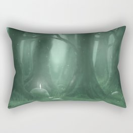A Great Forest Rectangular Pillow