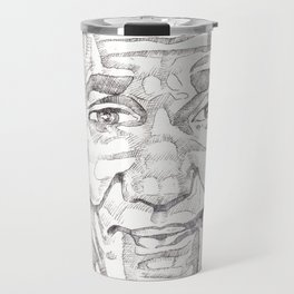 Bill Cosby in a Toulouse Lautrec Sweater by Aaron Bir Travel Mug