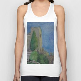 Alcazaba Tower WC151209m-14 Unisex Tank Top