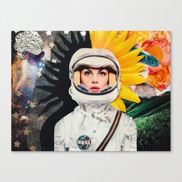 A Conflicted Jean Canvas Print