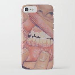 Grin iPhone Case