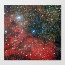 Star Cluster NGC 6604 Canvas Print