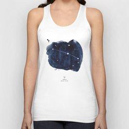 Zodiac Star Constellation - Aries Unisex Tank Top