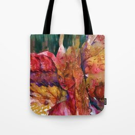 Fire Fairy by Kathy Morton Stanion Tote Bag