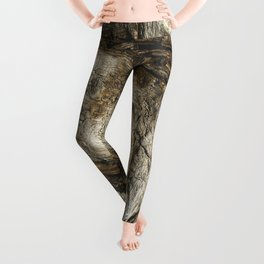 Tree Bark Leggings