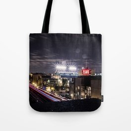 Wrigley Field Long Tote Bag