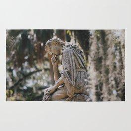 Bonaventure Cemetery - Statue of Eliza Wilhelmina Theus II Rug