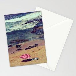 Retro style hot of Avalon beach Stationery Cards
