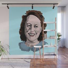 Happy Annie Wilkes - Misery  (Blue) Wall Mural