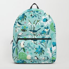 Finally Easter! [blue'n rose] Backpack