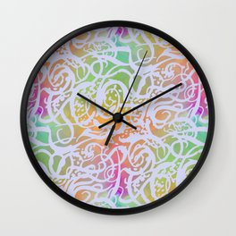 BATIK SUMMER Wall Clock