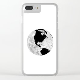 Earth. Clear iPhone Case
