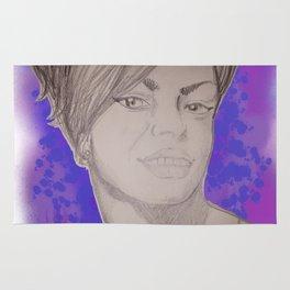 Diana Ross reimagined Rug