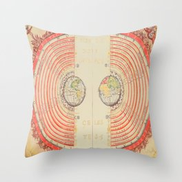 A Geocentric Universe Throw Pillow
