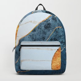 Sunset in the Volcanic Mountains Backpack