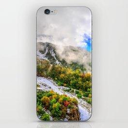 Autumn in Mountains iPhone Skin