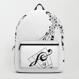 Bending Notes Backpack