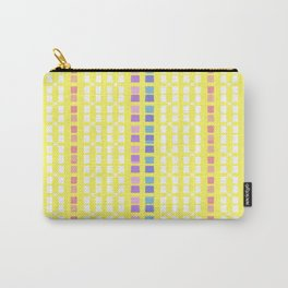 Lemon Mosaic Carry-All Pouch