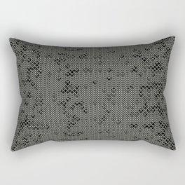 Chain Mail Texture Rectangular Pillow